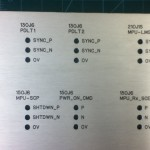 Aluminium Front Panel - Milled & Engraved